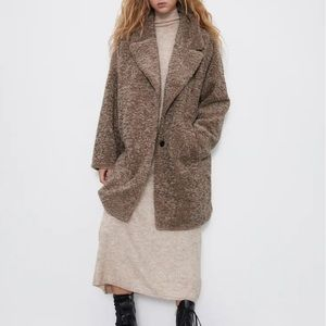 ⭐️ NWT ZARA Oversized Coat ⭐️